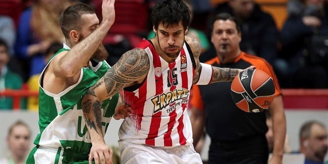 Regular Season, Round 21: Unics Kazan vs. Olympiacos Piraeus