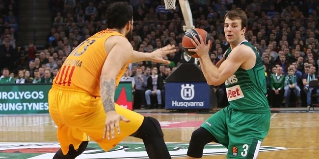 Regular Season, Round 21: Zalgiris Kaunas vs. FC Barcelona Lassa
