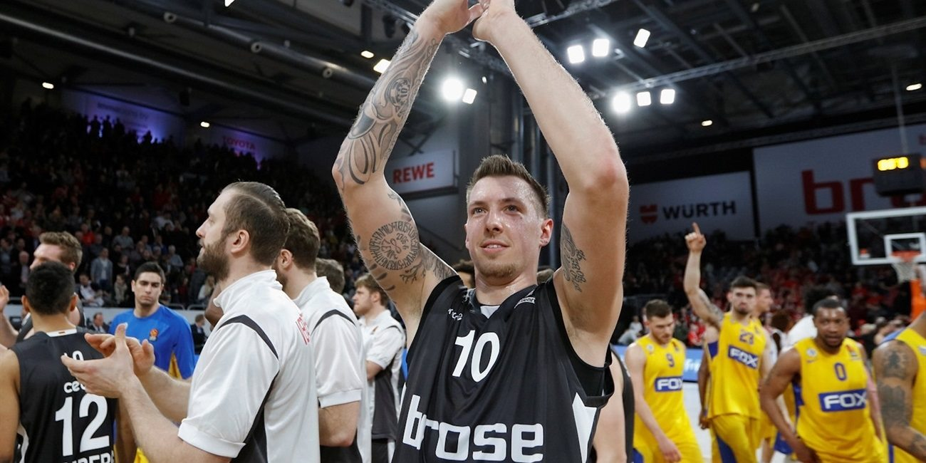 Regular Season Round 21: Strelnieks's perfect shooting night carries Bamberg over Maccabi