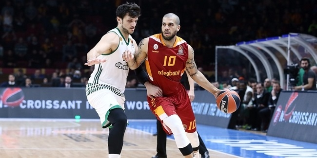 Regular Season, Round 21: Galatasaray Odeabank Istanbul vs. Panathinaikos Superfoods Athens