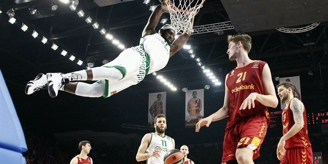 Regular Season Round 21: Panathinaikos nails 16 threes to beat Galatasaray