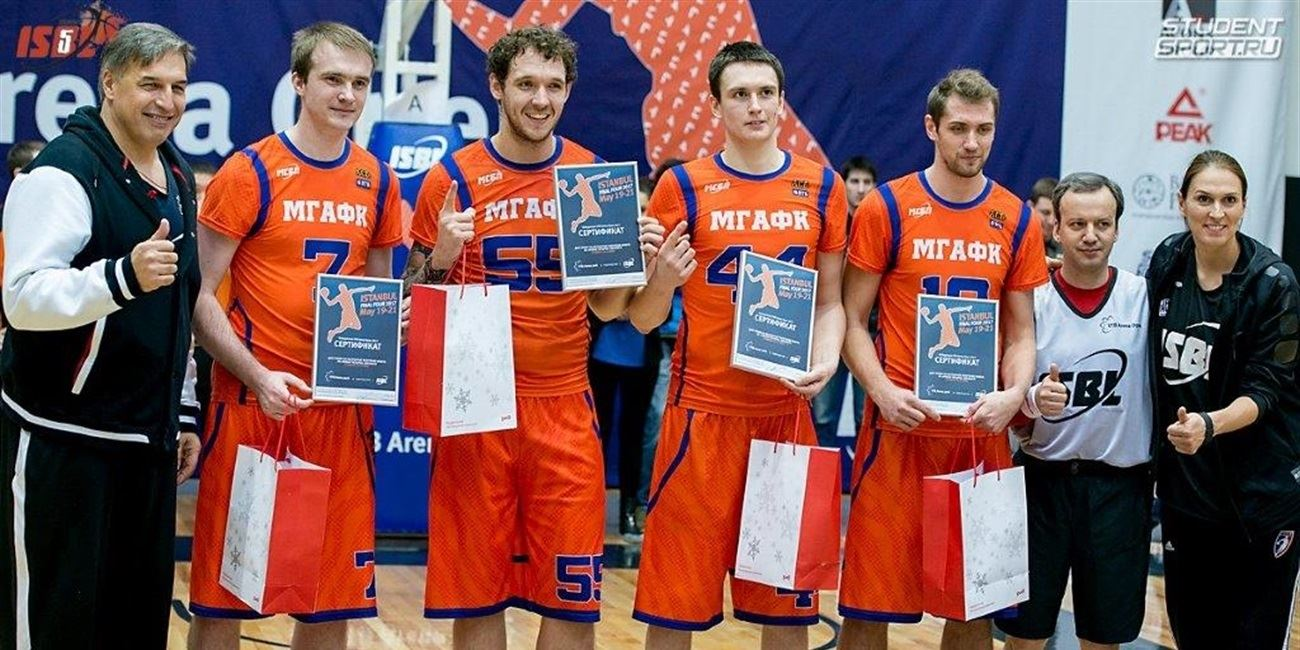 VTB Arena Park and ISBL holds 3x3 tournament in celebration of Russian Students Day
