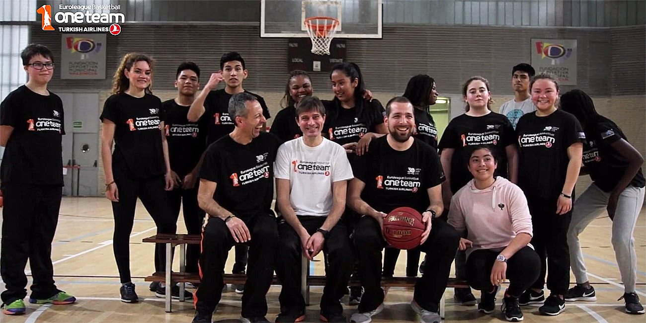 One Team session with Valencia Basket
