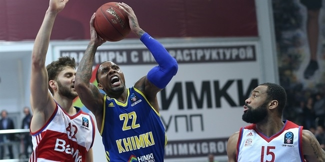 Top 16, Round 6: Khimki Moscow Region vs. FC Bayern Munich