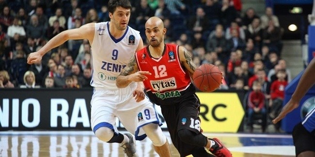 Top 16, Round 6 report: Despite loss at Rytas, Zenit advances to EuroCup playoffs