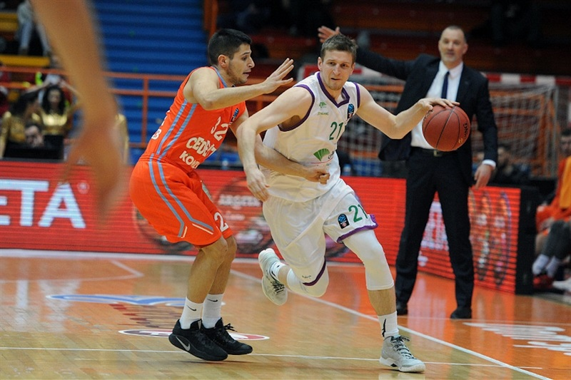 Adam Waczynski - Unicaja Malaga - EC16 (photo Cedevita)