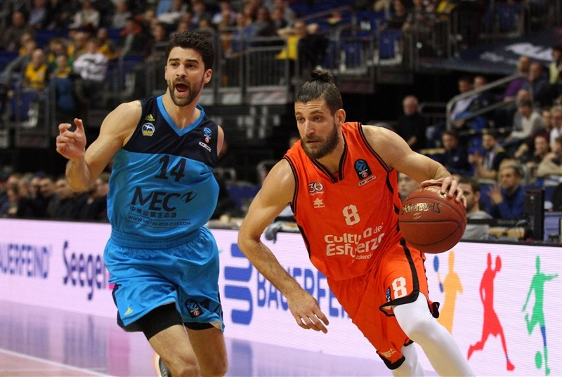 Antoine Diot - Valencia Basket - EC16 (photo ALBA Berlin -  Jan Buchholz)