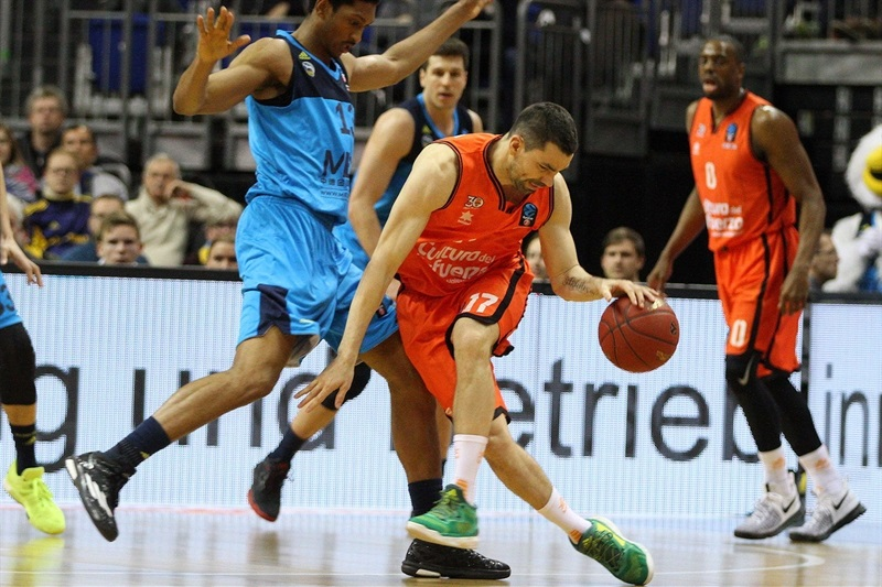 Rafa Martinez - Valencia Basket - EC16 (photo ALBA Berlin -  Jan Buchholz)