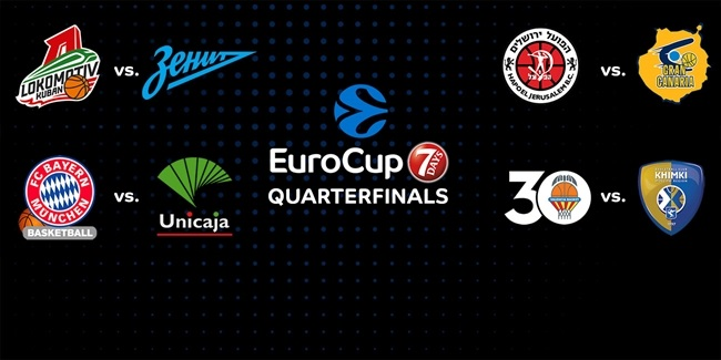 7DAYS EuroCup resumes February 28 with first three-game playoffs!