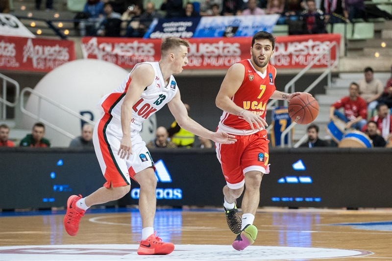 Facundo Campazzo - UCAM Murcia - EC16 (photo imQuality - Javier Bernal)