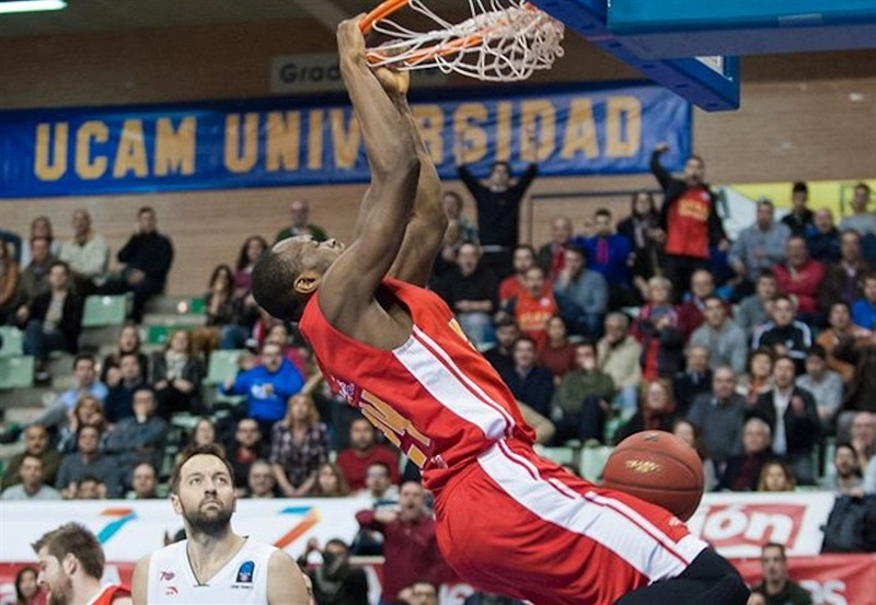 Kevin Tumba - UCAM Murcia - EC16 (photo imQuality - Javier Bernal)