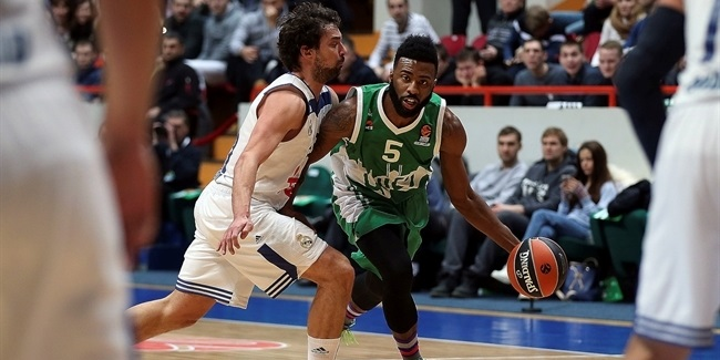 Regular Season, Round 22: Unics Kazan vs. Real Madrid