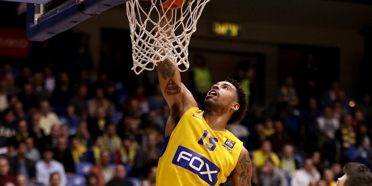 Regular Season Round 22: Goudelock shines as Maccabi edges Baskonia