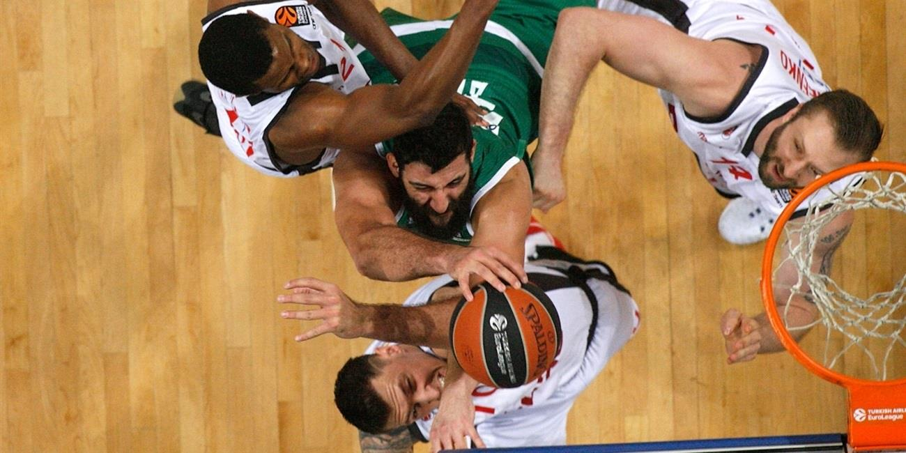 Regular Season Round 22: Panathinaikos defends home floor against Bamberg