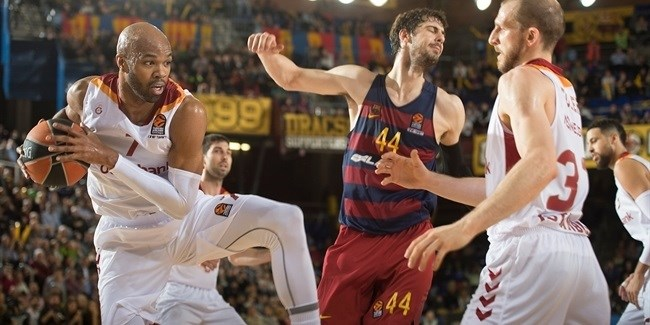 Regular Season Round 22: Galatasaray downs Barcelona for its first road win