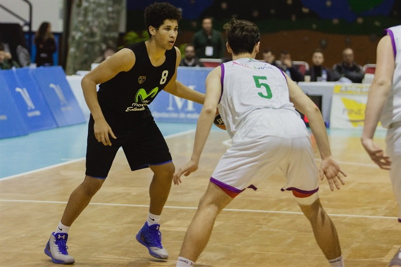 Alex Tamayo - U18 Movistar Estudiantes Madrid - ANGT Coin 2017 - JT16 (photo Antonio Ortoñez)