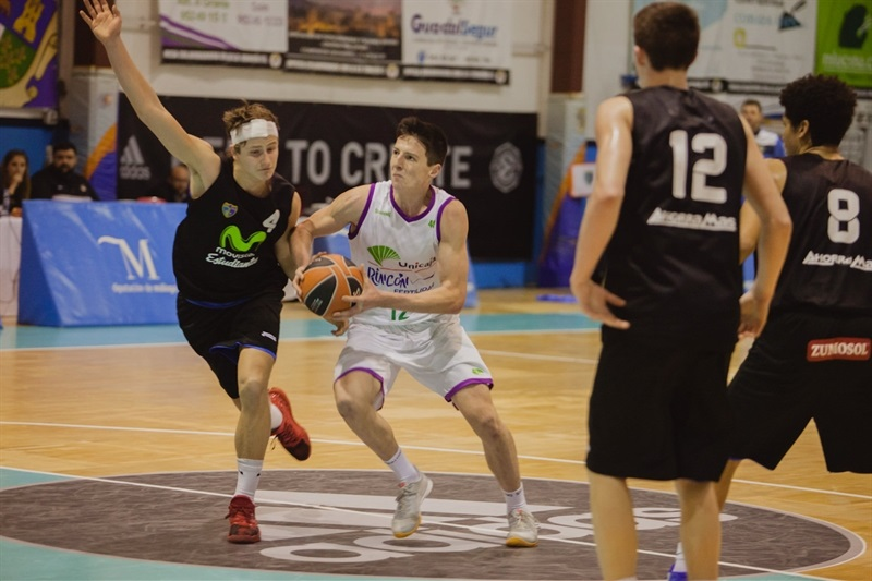 Jesus Carralero - U18 Unicaja Malaga - ANGT Coin 2017 - JT16 (photo Antonio Ortoñez)