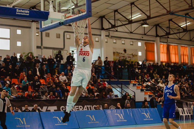 Dino Radoncic - U18 Real Madrid - ANGT Coin 2017 - JT16 (photo Antonio Ordoñez)