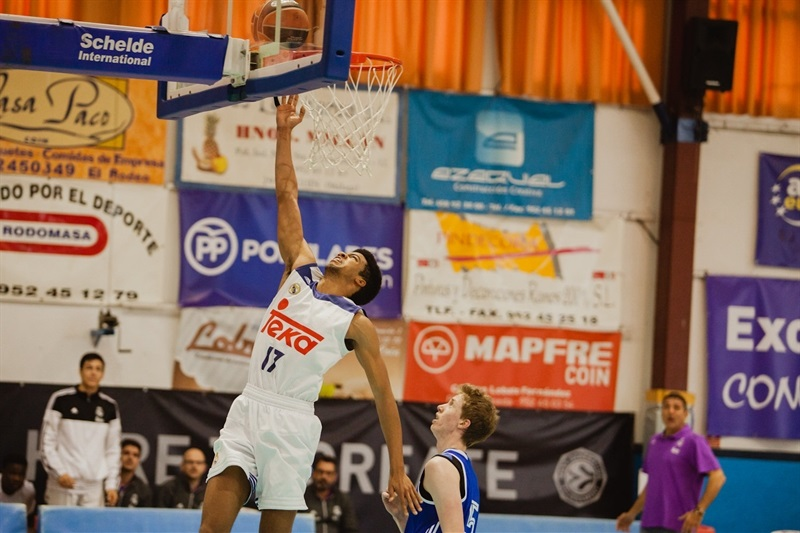 Acoydan McCarthy - U18 Real Madrid - ANGT Coin 2017 - JT16 (photo Antonio Ordoñez)