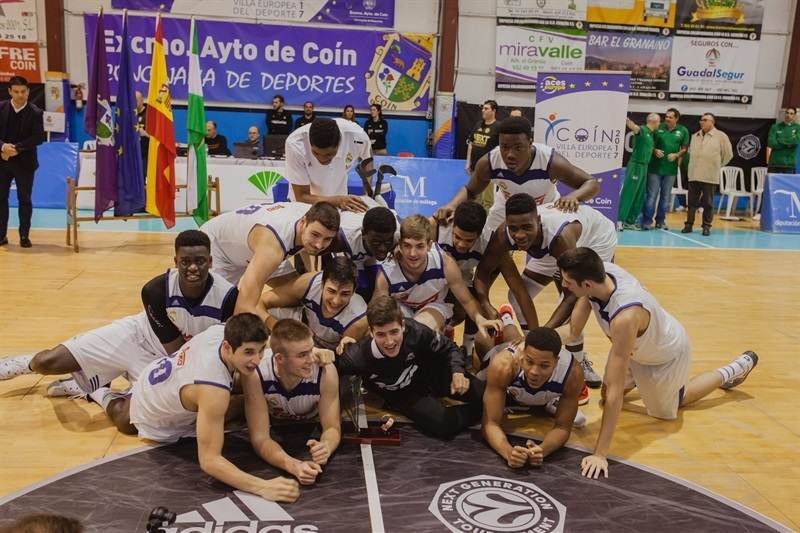 U18 Real Madrid champ ANGT Coin 2017 - JT16 (photo Antonio Ordoñez)