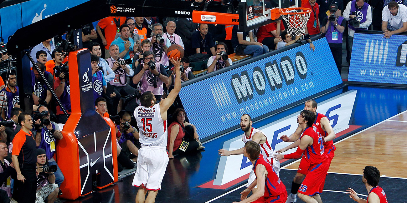 Georgios Printezis title-winning shot in Istanbul, 2012
