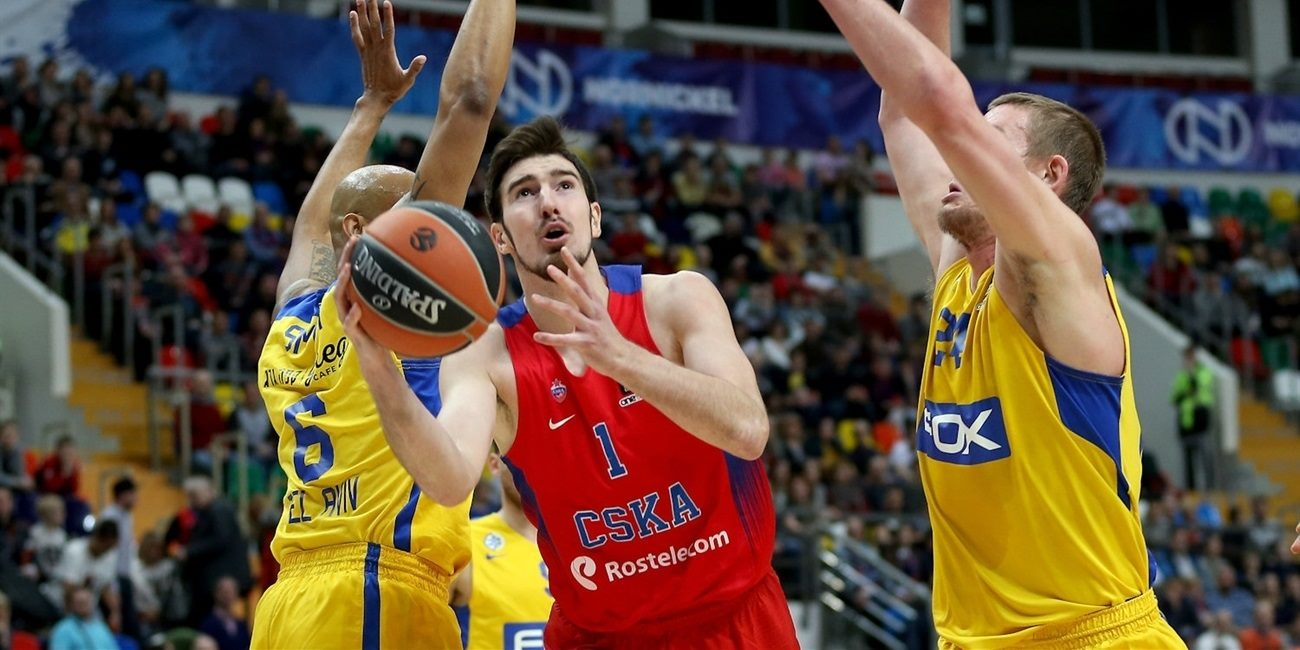Regular Season Round 23: De Colo stars as CSKA Moscow rolls past Maccabi