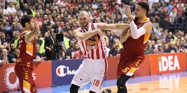 Regular Season, Round 23: Crvena Zvezda mts Belgrade vs. Galatasaray Odeabank Istanbul