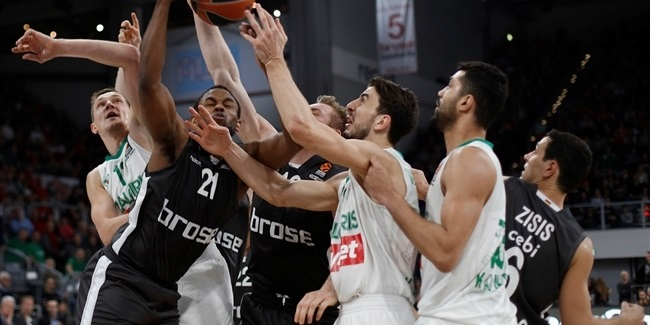 Regular Season Round 23: Jankunas, Lekavicius lead Zalgiris to Bamberg win