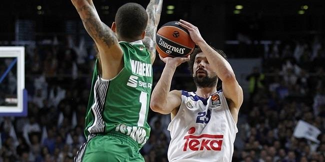 Regular Season, Round 23: Real Madrid vs. Darussafaka Dogus Istanbul
