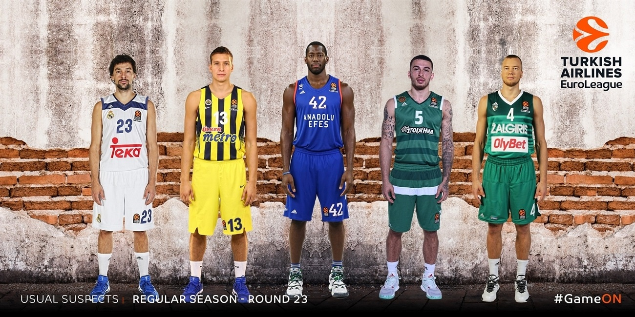 The Usual Suspects by Eurohoops.net: Regular Season Round 23