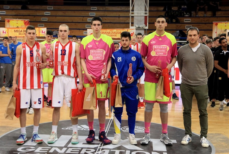 All Tournament Team - ANGT Belgrade 2017 - JT16