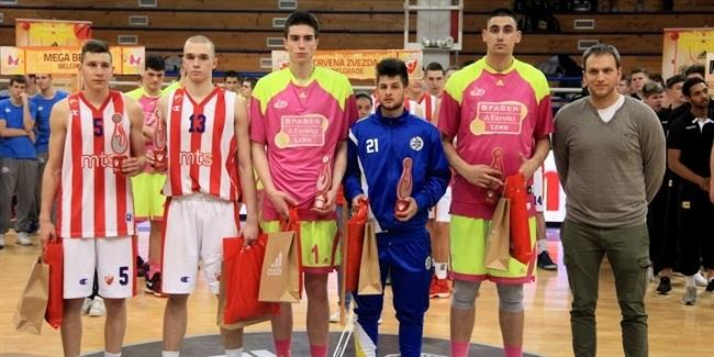 Zvezda's Uskokovic leads All-Tournament team in Belgrade