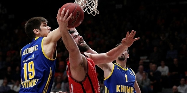 Quarterfinals Game 1: Valencia holds off Khimki comeback in opener