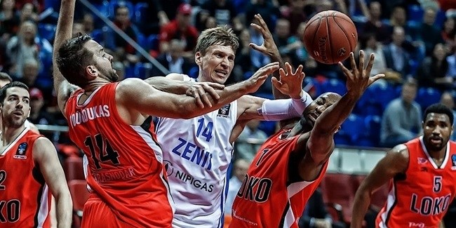 Quarterfinals Game 1: Loko trashes Zenit in series opener