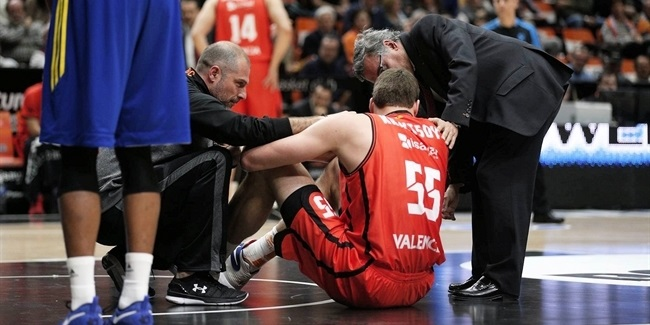 Valencia's Kravtsov out with injury