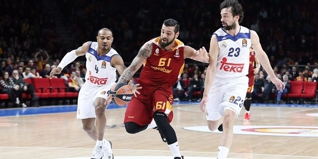Regular Season, Round 24: Galatasaray Odeabank Istanbul vs. Real Madrid