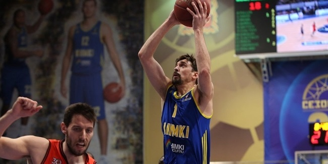 7DAYS EuroCup, Quarterfinals Game 2 MVP: Alexey Shved, Khimki Moscow Region