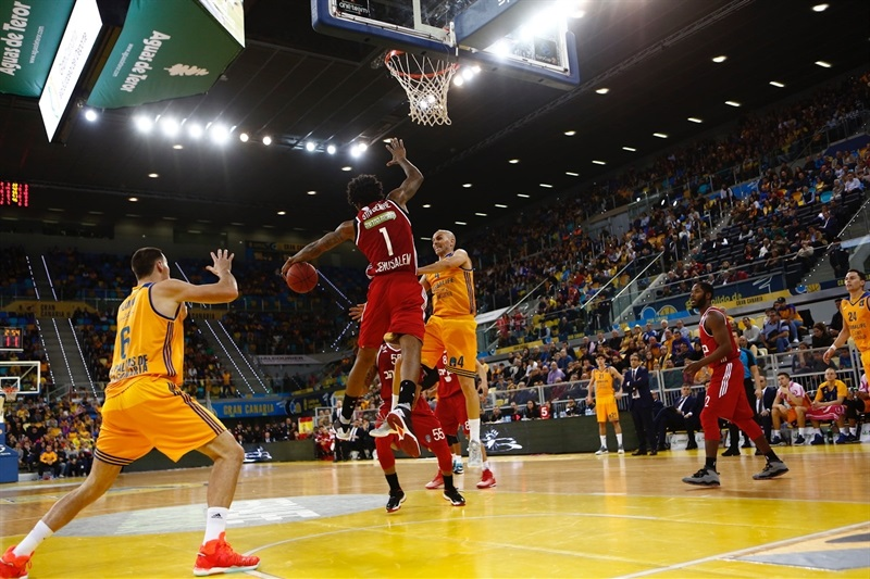 Amare Stoudemire - Hapoel Bank Yahav Jerusalem - EC16 (photo Gran Canaria)