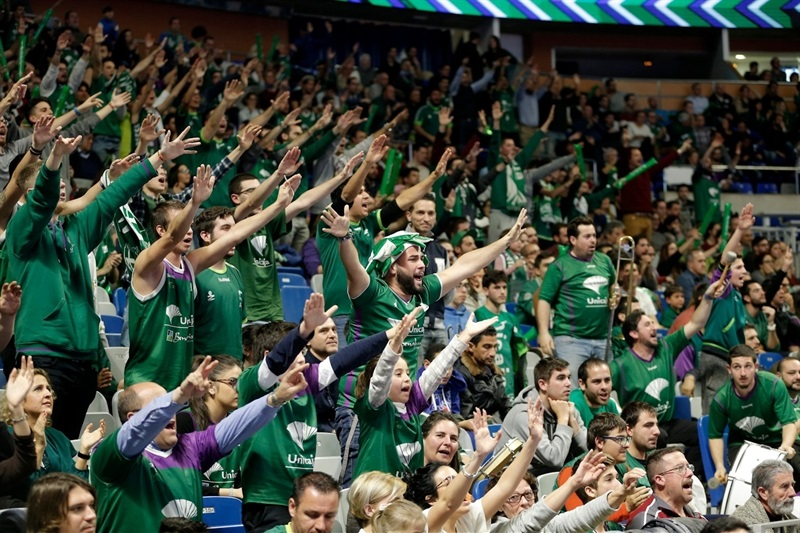 Fans - Unicaja Malaga - EC16 (photo Unicaja - Mariano Pozo)