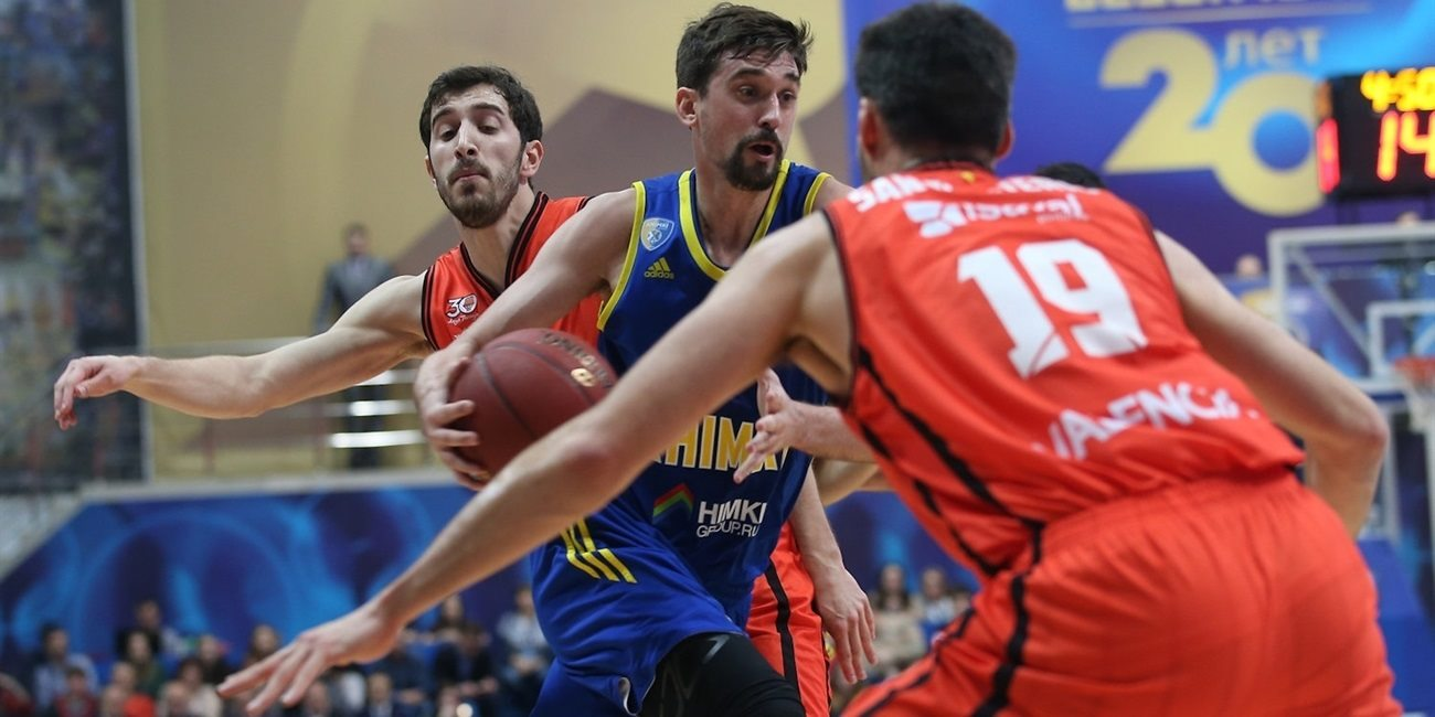 Quarterfinals Game 2: Khimki blows up in fourth quarter to force Game 3