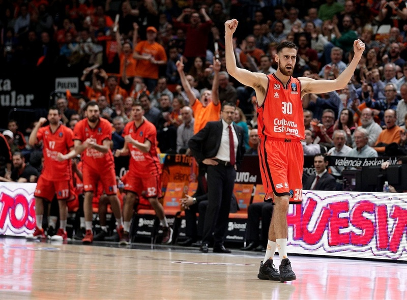 Joan Sastre - Valencia Basket celebrates- EC16 (photo Valencia Basket - Miguel Angel Polo)