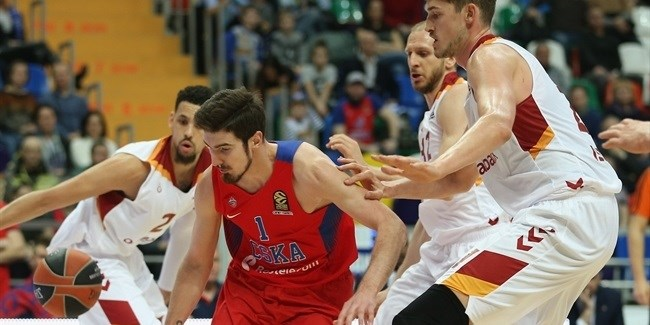 Regular Season Round 25: CSKA storms into playoffs by routing Galatasaray