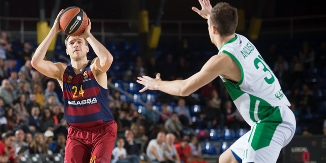 Regular Season, Round 25: FC Barcelona Lassa vs. Unics Kazan