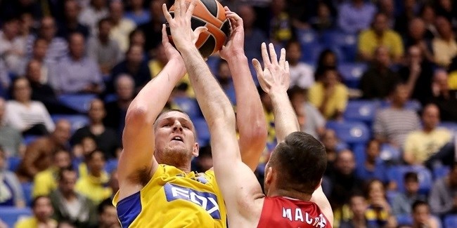 Regular Season Round 25: Maccabi FOX KO's Milan