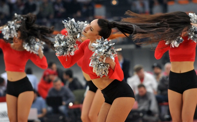 Cheerleaders - Olympiacos Piraeus - EB16