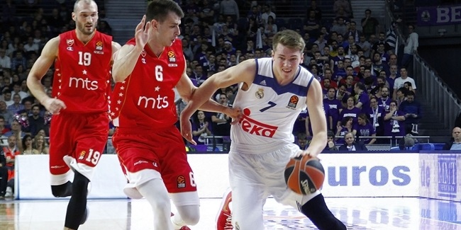 Regular Season, Round 25: Real Madrid vs. Crvena Zvezda mts Belgrade