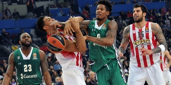 Regular Season Round 25: Olympiacos holds off Darussafaka, punches playoff ticket