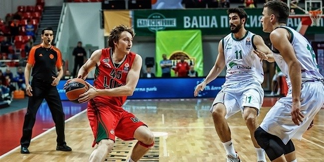 Semifinals Game 1: Lokomotiv Kuban Krasnodar vs. Unicaja Malaga