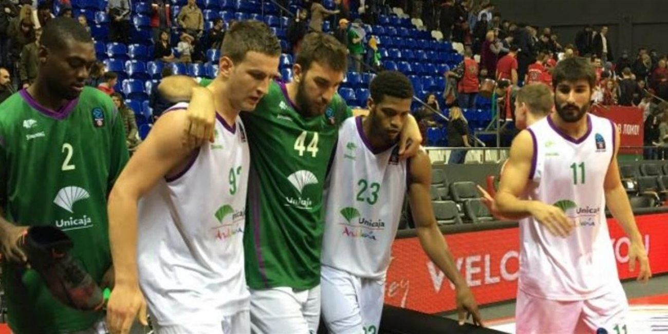 Unicaja center Musli out for remainder of semifinals