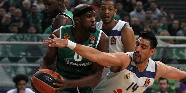 Regular Season Round 26: Panathinaikos fends off Madrid